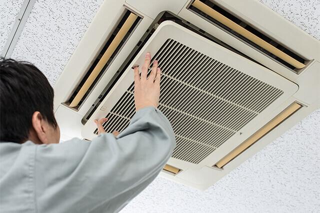 エアコンのメンテナンス(空調保守・点検サービス)